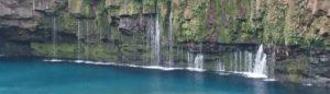 鹿児島県にある雄川の滝