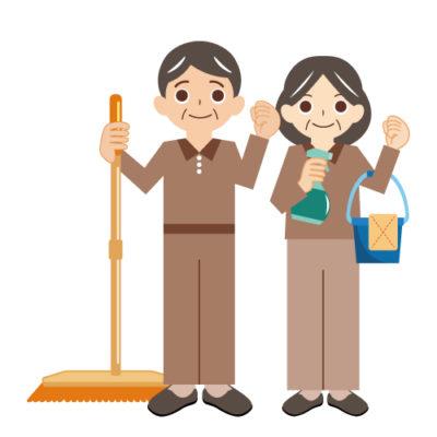 清掃の仕事