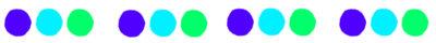 区切り線青緑