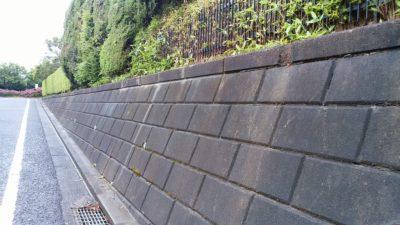 他人の家の塀
